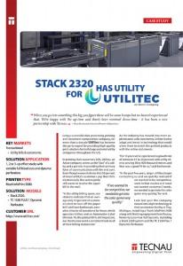 Utilitec - Case Study - Stack 2320 has utility for Utilitec