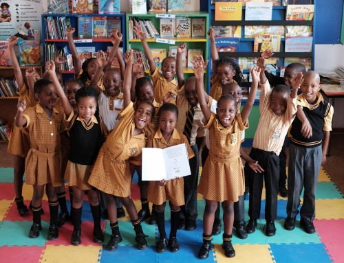 Over 3000 picture books to African schoolchildren