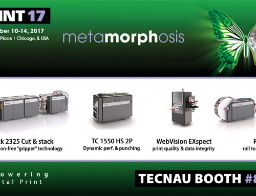 Tecnau All Around the Show Floor at Print 17