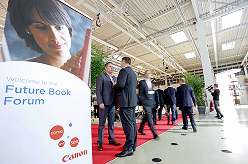 Tecnau at Canon Future Book Forum 2017 Poing Germany