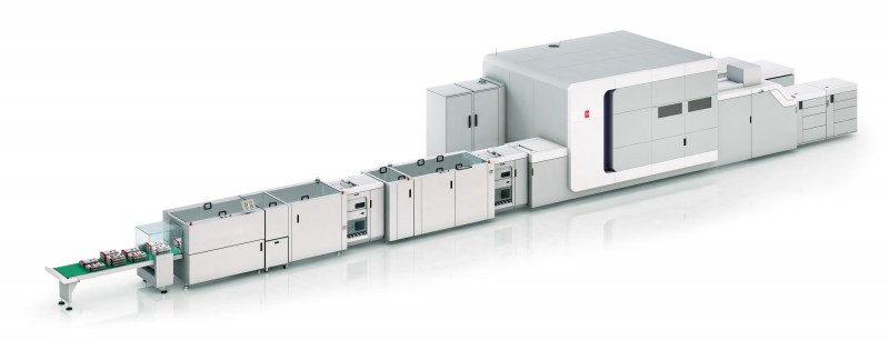 Tecnau Finishing Solutions Canon Océ VarioPrint i-series