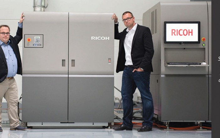 Haberbeck uses Tecnau to process inkjet web press output