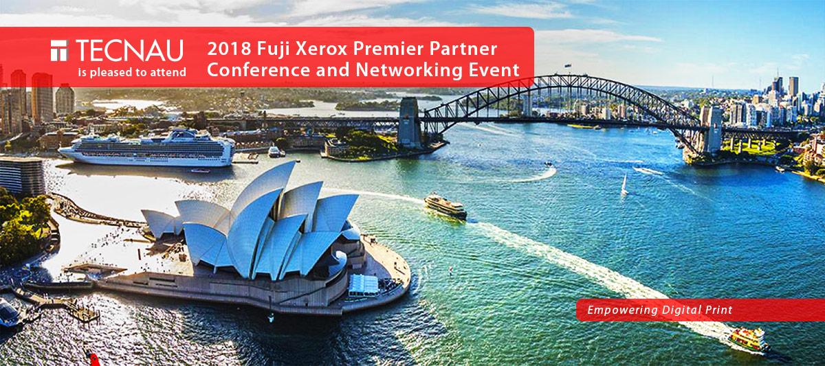 Tecnau at Fuji Xerox Premier Partner Conference - Sydney 2-4 July 2018