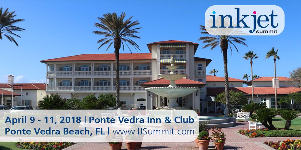 Tecnau at inkjet summit 2018 - Ponte Vedra Florida USA