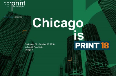 Tecnau at Print 18 McCormick Place Sept 30 - Oct 02 2018 Chicago